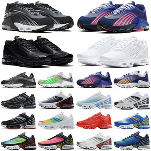 vapormax air airmax vapor max 2020 tn plus 3 men women running shoes triple white Black Iridescent Crimson Red Laser Blue Deep Royal mens trainers sports sneakers runners