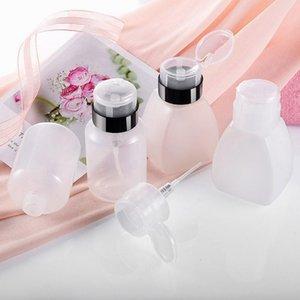 250ml Soap Dispenser Empty Bottleneck Plastic Bottle Nail Polish Remover Refillable Bottles Cosmetic PP Cream Airless Bottles