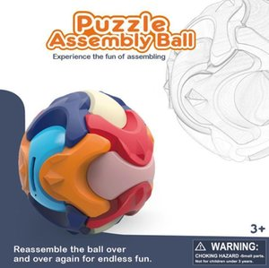 DIY educations toys children's assembling balls piggy bank oem baby science hands-on three-dimensional assemblings early education ball