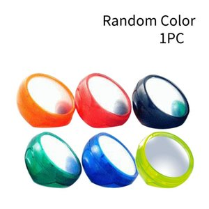 Mirrors Computer Rearview Mirror Laptop Cubicle Office Supplies Self Adhesive Personal Safety Privacy Protect Round Random Color Monitor