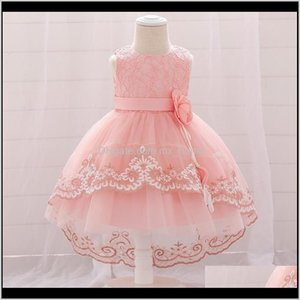 Girls Winter Flower Infant 1St Birthday Dress For Baby Girl Clothes Baptism Lace Princess Dresses Party And Wedding Toddler Gown 20102 Pmoez