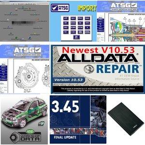 2021 Hot Alldata Soft-Ware v10.53 m..ch .. on-de-de loft-ware 2015 atsg حية ورشة عمل في 1TB HDD