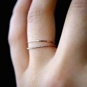 Ring Set Fashion Jewelry Female Elegant Gold Classic Knuckle Finger Rings for Women Vintage Wedding Engagement