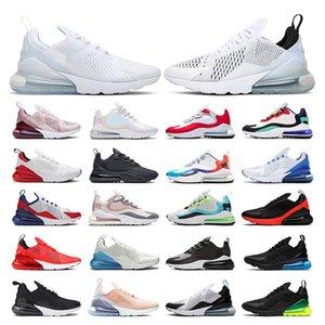 air max 270   Сокращение кроссовки тренеров мужских женщин Удобные дышащие спортивные кроссовки размером 5,5-11