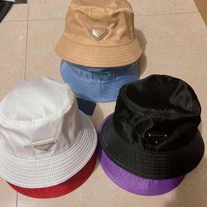 2021ss Kova Şapka Kadınlar için Moda Klasik Tasarımcı Kadın Naylon Kap Yeni Sonbahar Bahar Balıkçı Şapka Sun Caps Bırak Gemi