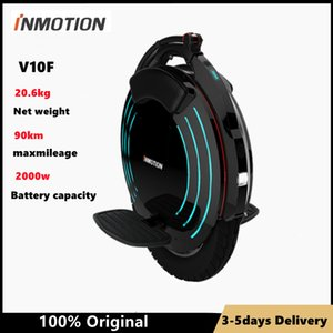 Original INMOTION V10F Self Balancing Scooter Electric Unicycle Build-in Handle EUC Monowheel Hoverboard with Lamps