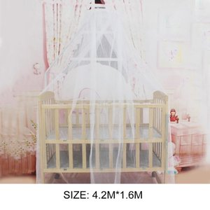 Crib Netting OCDAY Baby Bedding Summer Mosquito Net Portable Size Round Toddler Bed Mesh Hung Dome Curtain
