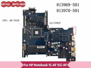 Motherboards ABL51 LA-C781P 813970-501 813970-601 For Notebook 15-AF 15Z-AF Laptop Motherboard 813969-501 813969-001 813969-601 A8-7410