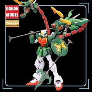 Super Nova XXXG-01S2 Green Double-headed Dragon Altron Gundam Model Kit MG 1 100 Action Figure Assembly Toy Gift Water Sticker Y200421