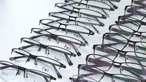 New Business Men's Steel Glasses Full Frame Half Flat Metal