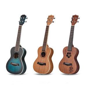 Single Board Ukrainian Beginners Adult Male 23 Inch Ukulele Children Small Guitars