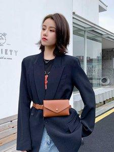 Hip Bum Waist Bag Belt For Women Fanny Pack Banana Pouch Bananka Kidney Female Money Purse Handy Bumbag Waistbag Beltbag Belly 210907