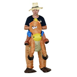 Halloween Horse Animal Mount Style Inflatable Clothing(Without Battery) High Quality Novel Festival Atmosphere Cosplay
