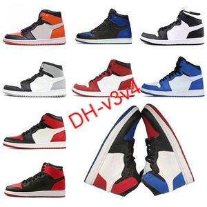 2021 الأحذية jumpman الصنوبر الأخضر 1 ثانية أحذية كرة السلة 1 الرجال مصمم أحذية رياضية الخوف من سبج ung براءات الاختراع الذهب أسود تو مبارات الحجم 40-46