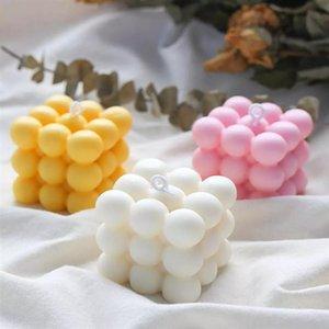 أدوات الحرفية DIY الشموع العفن الصويا الشمع شمعة العفن الجص 3d سيليكون مصنوعة يدويا رائحة الصابون