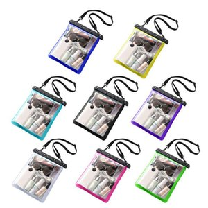 Large Clear Beach Tote PVC Swim Jelly Bags Sports Shoulder Waterproof Handbag Y3NE Cosmetic & Cases