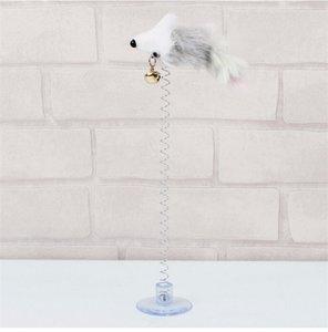 مضحك سوينغ الربيع الفئران مع شفط كأس فروي القط اللعب الملونة ريشة ذيول الماوس لعب للقطط الصغيرة لطيف الحيوانات الأليفة اللعب 563 r2
