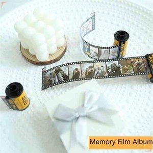 10 15 20 25 30pcs Memory Film Album DIY Customized Photos For Girlfriend Creative Wedding Birthday Gift Scrapbooking 210330
