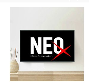 Smart NEO TV pro QHD tv 2 NEOX Smarters Accessories receivers one year 9000+live work on PC IOS Androad box Smart TV