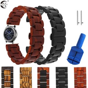 Cinturino in legno per Huawei Watch GT 2 Pro / GT2 46mm Honor Bracciale Smart Bracciale Ticwatch Pro Wristband Correa