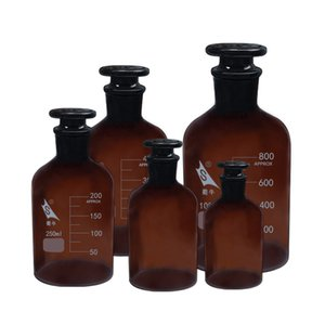 Glass Reagent Bottle, Small Mouth Brown Bottle, Chemical Laboratory Consumables and Instruments