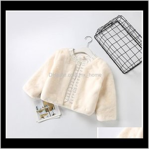 Outwear Clothing Baby Maternity Drop Delivery 2021 Girls Woolen Coat Baby Girl Jackets Autumn Winter Children Thickened Warm Coats Kids Jacke