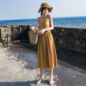 off watch Waist ginger dress for p o taking fairy out mid length open back resort beach sling