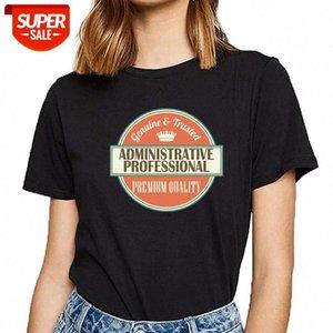 Tops T-shirt Femmes Gift-Cadeau Administrateur Kawaii Inscriptions Imprimer Femme Tshirt Party # K61F