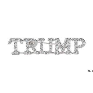 Trump 2024 Brooch DIY Diamond Badge Crafts EWD10669