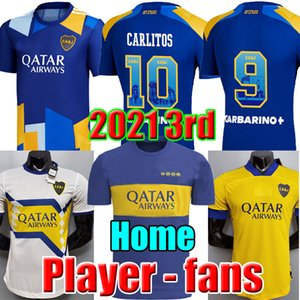 Fans Player version 20 21 Boca Juniors futbol forması MARADONA TEVEZ DE ROSSI 2020 2021 home away 3rd 4th thailand futbol forması