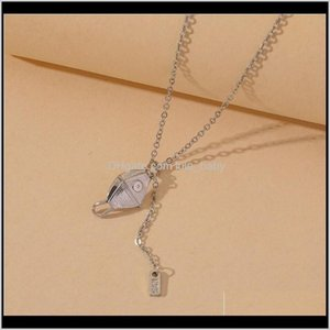 S1483 Fashion Jewelry N95 Face Mask Pendant Necklace Chain Tassel Hip Hop Necklaces 2Pbfo Ucd6I