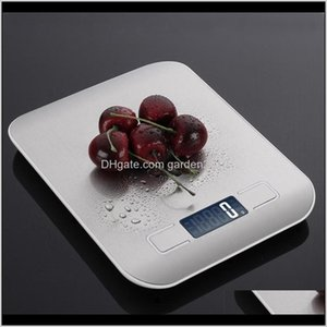 Tools Household Kitchen 5Kg10Kg 1G Food Diet Postal Scales Balance Measuring Tool Slim Lcd Digital Electronic Weighing Scale 201211 Bi Fj42T
