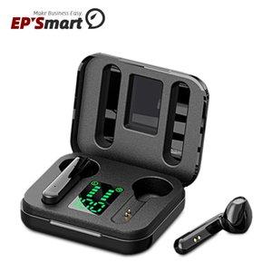 سماعة لاسلكية غير عادية Bluetooth5.0 X15 TWS سماعة بلوتوث LED عرض Sinkon Siri سماعة مع ميكروفون