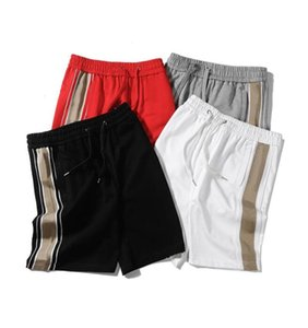 Хлопковые лето мужские шорты с геометрической буквой мода повседневная шорты эластичные талии короткие штаны для мужских спортивных коволок Balencga