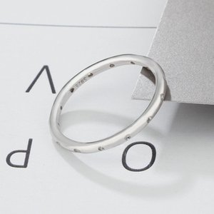 High Quality Engagement Wedding CZ Band Ring 100% Real Pure 925 Sterling Silver For Women Gift 383 T2 RE5T