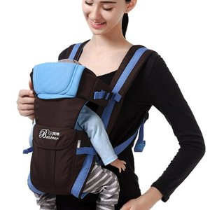 Carriers, Slings & Backpacks Baby Carrier For Borns Infant Hands Free Wrap Nursing Cover Comfortable Kangaroo Hipseat 0-36m#fs