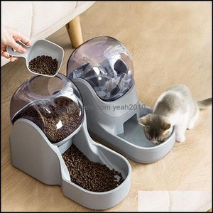 Supplies Home Gardendogs Feeders Pet Cat High Capacity Water Bottle Candy Color Matic Dog Dispenser Washable Puppy Kitten Drinking Fountain