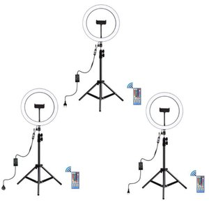 """Strings Tritone Remote Dimming 12\"""" LED Selfie Ring Light RGB Dimmable Vlogging E7CB"""