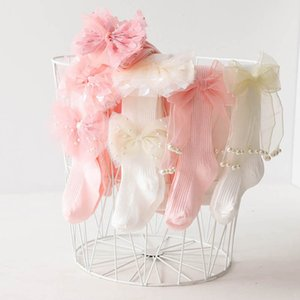 Leggings Girls Pantyhose Baby Pants In Child Clothing Cotton Princess Flower Lace Dance Socks 0-10Y B4538
