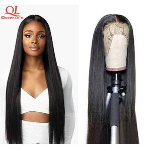 Кружевные парики 13x6 HD Frontal прямой парик 40 42 дюйма 250 плотность закрытия 4x4 5x5 6x6 бразильский реми человеческие волосы