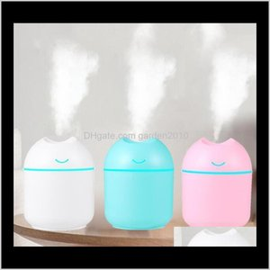 Oils Diffusers Fragrances Décor Garden Drop Delivery 2021 Air Humidifiers Usb Ultrasonic Mini Scented Aroma Essential Oil Diffuser Creative H