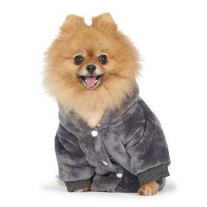 Pet Cloth dog apparel Autumn Fashion Sport Jacket Color Sherpa Fleece Hooded Warm Cat Sweatshirt Clothes with Hood