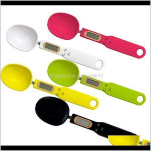 Tools 500G01G Digital Measuring Food Scale Spoon With Lcd Display Electronic Scales Baking Supplies Kitchen Accessories Sbyzj Av84L