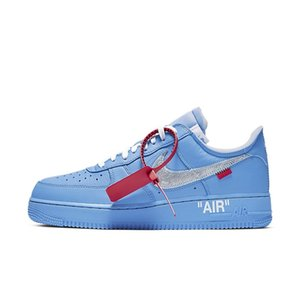 Off White Nike Air Force 1 Low Running Shoes Jordan1 Basketball Shoe Dropshipping Accepted Desert Ore Volt The Ten 07 MoMA Men Sneakers Chicago UNC