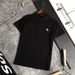 2021 diseñadores t shirt verano Europa París Polos American Stars Fashion Mens Tshirts Star Satin 100% Algodón Polo Polo Camiseta casual Mujeres Mans JS0062