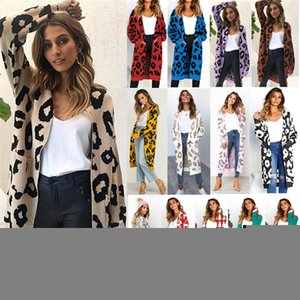 Men's and women's clothingSweaters Coats Women's High Casual Winter Outer Quality Ladies Long Sleeve Cardigan Knitted Coat 14 Colors VD3031 0HGB