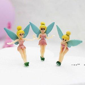 Miniatures Gnomes Pixie Dust Princess Miniature Fairy Figurine Mini Garden Resin Craft EWD10423