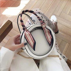 Shoulder Bags Designer Womens Wallets Travel Duffle Luggage Bag Fashion Transparent Clear Circular 2 Pic Zipper Detachable Chain Handbag1
