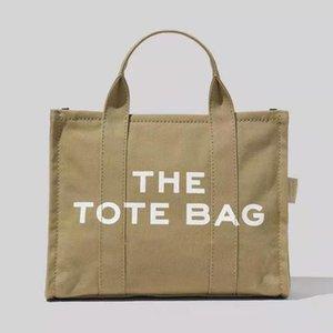 Shoulder Bag Canvas Women Large Tote bags Cloth Shopper for Letter Printing Crossbody Handbag Ins