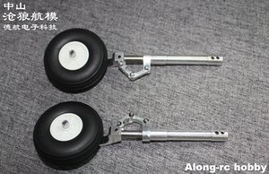 One Pair 160 or170mm Back Damping Kneeling Landing Gear or with3
